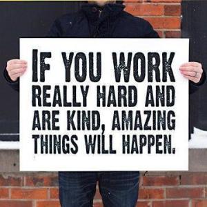 work hard image