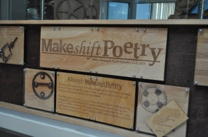Make Shift Poetry: A product of a project.
