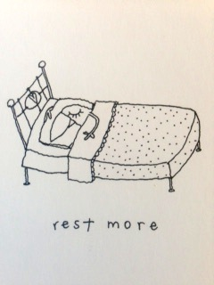 rest more